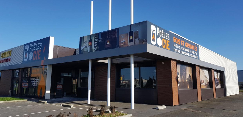 Poêles et Cie agence de Châteaubriant